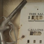 Pieces of the past on display… like a pump handle from the days of 35 cent gas!.