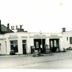 Original Gas station ( in 1951) we preserved the structure and enhanced it